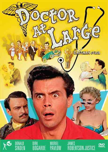 DOCTOR AT LARGE BY BOGARDE,DIRK (DVD)
